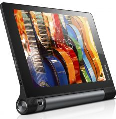 "Lenovo Yoga Tablet 3 8 Voice 4G/3G WiFi GPS BT4.0, Qualcomm 1.3GHz QuadCore, 8"" IPS 1280x800, 2GB DDR3, 16GB flash, 8MP rotatable cam, MicroSIM, MicroSD up to 128GB, MicroUSB, Stereo speakers, 20 hours battery life, Android 5.1 Lolipop, Black"