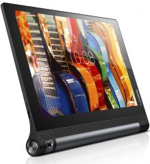 "Lenovo Yoga Tablet 3 10 Voice 4G/3G WiFi GPS BT4.0, Qualcomm 1.3GHz QuadCore, 10"" IPS 1280x800, 2GB DDR3, 16GB flash, 8MP rotatable cam, MicroSIM, MicroSD up to 128GB, MicroSIM, MicroUSB, Stereo speakers, 18 hours battery life, Android 5.1 Lolipop, Black"