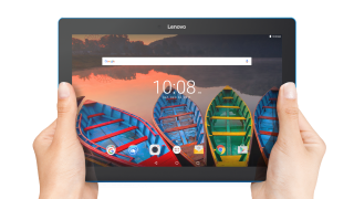 """Lenovo Tab 10 WiFi GPS BT4.0, Qualcomm 1.3GHz QuadCore S210, 10.1"""" IPS 1280x800, 1GB DDR3, 16GB flash, 5MP cam + 2MP front, MicroSD up to 64GB, MicroUSB, Android 6.0.1 Marshmallow, Black"""