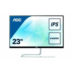 "Монитор AOC 23"" IPS 1920x108016:9 250cd 20M:1 4ms VGA, HDMI Borderless Black, 3 years"