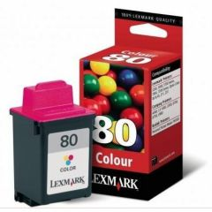 #80 - High Color InkJet cartridge 275 pages at 15% coverage for Z11/Color Jet Printer 3200, 5000, 5700, 5770, 7000, 7200, 7200V , OptraColor 40&45, Z31