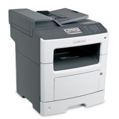 Mono Laser Multifunctional Lexmark MX417de 4in1; Duplex;A4; 1200 x 1200 dpi;2400 IQ; 38 ppm; 512 MB; RADF;38 cpm; capacity: 300 sheets; USB 2.0; Gigabit LAN; 4.3'' colour touch screen