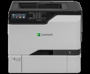 Color Laser Printer Lexmark CS727de Duplex; A4; 1200 x 1200 dpi; 38 ppm; 1024 MB; capacity: 650 sheets; USB 2.0; Gigabit LAN;  Maximum Monthly Duty Cycle 120 000 pages per month