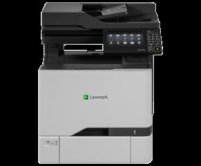 Color Laser Multifunctional Lexmark CX727de 4in1; Duplex; A4; 1200 x 1200 dpi; 4800 CQ; 47 ppm; 2048 MB; RADF; capacity: 650 sheets; USB 2.0; Gigabit Ethernet (10/100/1000);  7'' colour touch screen, 150 000 pages/month