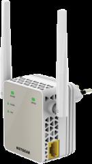 Аксес пойнт, Netgear EX6120, AC1200 DUAL BAND (300 Mbps+900 Mbps), 1 x 10/100 Port, Range extender & Acces Piont, 2 external antennas