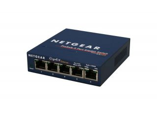 Суич Netgear GS105GE, 5 x 10/100/1000 ProSafe Gigabit switch