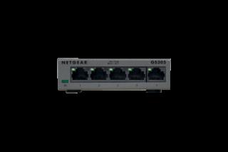 Суич Netgear GS305, 5 x 10/100/1000 Gigabit Switch (metal case)
