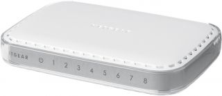 Суич Netgear GS608, 8 x 10/100/1000 Platinum Gigabit Switch