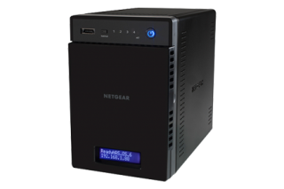 Сторидж Netgear READYNAS 214 (4 BAY DISKLESS) ReadyCLOUD, eSATA, 2x1Gbe, 3x USB3.0, Link Aggregation