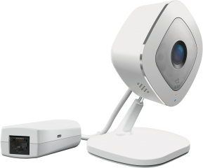 Wireless IP Video Камера ARLO Q Plus, VMC3040S, HD 1080p, SD card slot, Захранване 220V или PoE, Съвместима с всички марки рутери