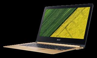 "РАЗПРОДАЖБА! NB Acer Swift 7 SF713-51-M752/13.3"" IPS Full HD CineCrystal/ Intel® Core™ i5-7Y54/1x8GB DDR3/ 256GB SSD/ Intel® HD Graphics 615/ Keyboard backlight/Finger Print/ Windows 10 / Shale Black / Подарък кабел Acer USB-C / USB-A cable"