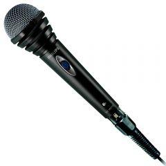 Philips кабелен микрофон, 600 ома, мембрана с диаметър 25 мм, предпазител от вятър, кабел 1,5 м, ,5 - 6,3 мм моно, 100 - 10 000 Hz
