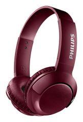Philips Bluetooth слушалки, цвят: червен