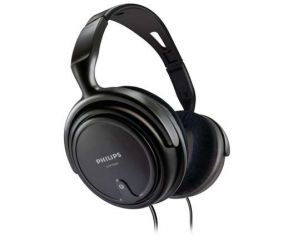 Philips HiFi HEADPHONES, 2 m cord, 3.5-6.3mm adaptor