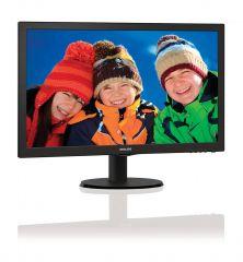 "Philips 21.5"" Slim LED 1920x1080 FullHD 16:9 5ms 250cd/m2 10 000 000:1 VGA, HDMI, TCO, Black"