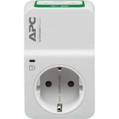 APC Essential SurgeArrest 1 Outlet 230V, 2 Port USB Charger, Germany