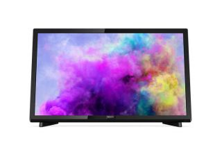 "Philips 22"" LED TV, Full HD, 200 PPI,12V,  Pixel Plus HD, DVB-T2/C/S3"