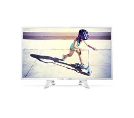 "Philips 32"" HD TV, New model 2017, DVB-T2/C/S2, White, Digital Crystal Clear, 200 PPI, Micro Dimming, Superior Sound, 16W"