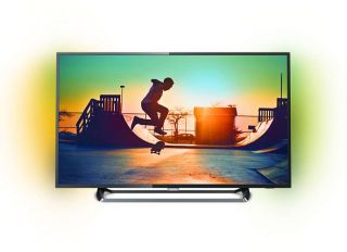 """Philips 55"""" Ultra HD, DVB-T2/C/S2,Ambiligt 2, HDR+, SmartTV, Dual Core, 4GB, Pixel Plus Ultra HD, 900 PPI, Natural Motion, 100Hz FR, Micro Dimming, 20W"""