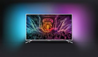"""Philips 55"""" UHD, DVB-T2/C/S, Android TV, Ambilight 2, Pixel Precise UHD, 1800 PPI, 20W,  Silver"""
