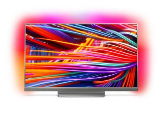 "Philips 65"" UHD, DVB-T2/C/S2, Android TV, Ambilight 3, Nano IPS pannel, Quad core,2900  PPI, 16 GB Internal memory, expandable, RC Keyboard+ Voice, Micro Dimming Pro,2x HDMI 2.0 + 2x HDMI 1.4, 1x USB3.0 + 2x USB2.0, DTS Premium Sound, 45W, Metal bazel, Si"
