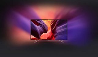 """Philips 65"""" Philips AmbiLux 4K UHD Razor Slim телевизор с Android TV™ с проектиране Ambilight и Pixel Precise Ultra HD"""