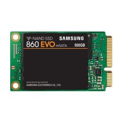 SSD Samsung 860 EVO Series, 500 GB 3D V-NAND Flash, mSATA