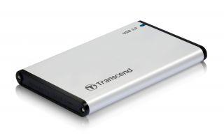 """Кутия за твърд диск Transcend StoreJet 2.5"""" S3 External Case 0GB (SATA), USB 3.0, Aluminum housing"""