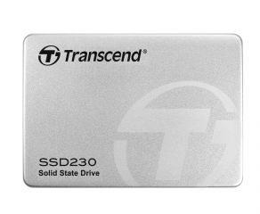 "Твърд диск Transcend 128GB 2.5"" SSD230S SATA3 3D NAND Flash TLC, read-write: up to 560MBs, 520MBs, Aluminum case"