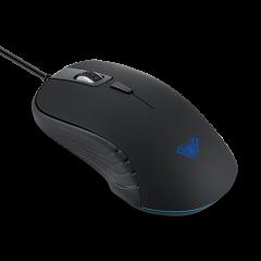 Mишка AULA SI-9003A Tantibus Gaming mouse Optical, Adjustable DPI 800/1200/2000, 4 Buttons, подсветка,125 Hz, ергономичен дизайн, USB,wired, Black