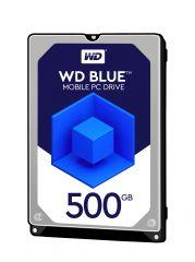 "HDD 500GB WD Blue 2.5"" SATAIII 8MB 7mm slim (2 years warranty)"
