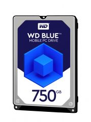 "HDD 750GB WD Blue 2.5"" SATAIII 8MB (2 years warranty)"