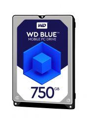 """HDD 750GB WD Blue 2.5"""" SATAIII 8MB (2 years warranty)"""