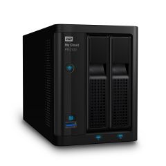 HDD 0TB LAN 1000Mbps NAS MyCloud PR2100 2-bay 2xGigabit + 2xUSB 3.0 (up to 16TB)