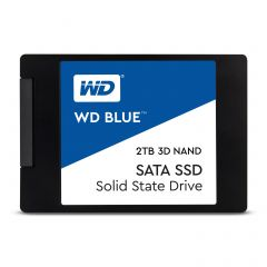 """SSD WD Blue 2TB 2.5"""" SATA III 3D NAND, read-write: up to 560MBs, 530MBs (5 years warranty)"""