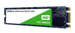 SSD WD Green 3D NAND 240GB M.2 2280(80 X 22mm) SATA III SLC, read up to 545MBs (3 years warranty