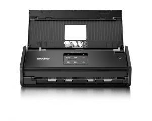 Document scanner BROTHER ADS1100W, 16 ppm 2-sided colour/mono scan, 20 page ADF, up to 1200x1200 dpi, 128 MB, One touch scanning, Hi-Speed USB 2.0, Scan direct to USB/FTP