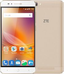 "Smartphone ZTE Blade А610 LTE Dual SIM 5.0"" IPS HD (1280 x 720) / Cortex-A53 Quad-Core 1.3GHz / 16GB Memory / 2GB RAM / Camera 8.0 MP+Flash & AF/5MP / Bluetooth 4.0 / WiFi 802.11 b/g/n / GPS / Battery Li-Ion 4000 mAh / Android 6.0 / Gold"