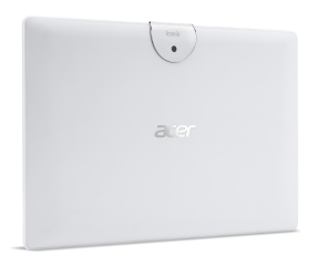 """Tablet Acer Iconia B3-A40-K1AH WiFi/10.1"""" IPS (HD 1280 x 800), MTK MT8167 Quad-Core Cortex A35 1.3 GHz/1x2GB/16GB eMMC, Cam (2MP front, rear 5 MP 1080p FHD)/G-sensor, Micro USB, microSD™, Android™ 7.0 (Nougat), White"""