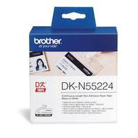 Paper Tape BROTHER Continuous NON ADHESIVE 54mm  x 30.48m