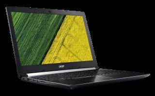 "NB Acer Aspire 7 A715-71G-55KS /15.6"" IPS FHD Matte/Intel® Quad Core™ i5-7300HQ/2GB GDDR5 VRAM NVIDIA® GeForce® GTX 1050/8GB(1x8GB)/1000GB+(m.2 slot SSD free)/Keyboard backlit/4L/LINUX, Hair-Brush Anodizing"