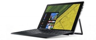 "Acer Switch 5 с ПОДАРЪК ACER 12"" PROTECTIVE SLEEVE Acer Switch 5 SW512-52-77TA/12"" IPS, WQHD Multi-Touch (2160 x 1440)/Intel HD Graphics 620 / Intel Core i7-7500U (2.7/3.50GHz, 4M), 1x8GB /256GB SSD/1x USB 3.0 /1x USB Type-C /802.11a/b/g/n/ac /BT/2CELL/Wi"