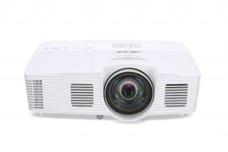 Projector Acer  S1283Hne, DLP® 3D Ready, Short-Throw, Resolution: XGA (1024x768), Format: 4:3, Contrast: 13 000:1, Brightness: 3 100 lumens, Eco lamp life 8 000 hours, Input: 1 x HDMI, 1 x Composite Video,2xVGA, 1 x S-Video,1 x USB (Mini-B),1 x RJ45/LAN P