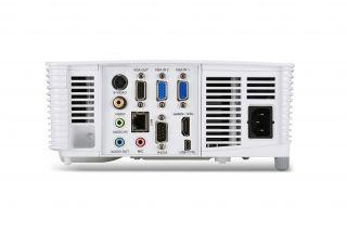 Projector Acer  S1283Hne, DLP® 3D Ready, Short-Throw, Resolution: XGA (1024x768), Format: 4:3, Contrast: 13 000:1, Brightness: 3 100 lumens, Eco lamp life 8 000 hours, Input: 1 x HDMI, 1 x Composite Video,2xVGA, 1 x S-Video,1 x USB (Mini-B),1 x RJ45/LAN P