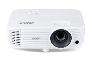 ПОДАРЪК ЕКРАН T87-S01MW / PJ Acer P1350WB DLP® 3D ready, Resolution: WXGA(1280x800), Format: 16:10, Contrast: 20 000:1, Brightness: 3 700 lumens, Input: 2xHDMI®, 1xHDMI®MHL, Analog VGA 1xIn 1xOut, Composite Video (RCA) x 1, USB(A)x1, USB (Mini-B)x1, RJ-45