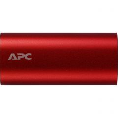 APC Mobile Power Pack, 3000mAh Li-ion cylinder, Red