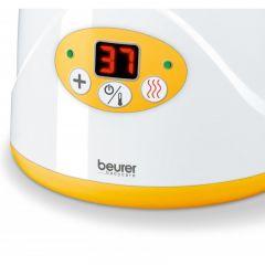 Beurer Уред за затопляне на бебeшки бутилки и храна, възмoжност за затопляне и поддържане на постоянна температура, LED дисплей показващ температурата, авт.изключване
