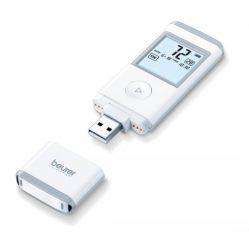 Beurer Мобилен ЕКГ апарат - USB, Bluetooth, Beurer CardioExpert App, 36 позиции за запаметяване, медицински сертификат