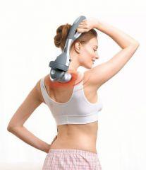 Beurer Инфрачервен уред за масаж - релаксиращ масаж, сваляща се дръжка, 2 приставки, възможност за регулиране на интензитета на масаж