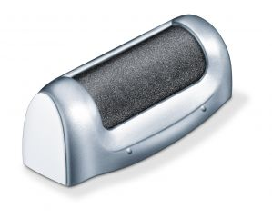 Beurer Електрическа пила за загрубяла кожа, с LED светлина, 2 приставки, предпазно капаче, четка за почистване